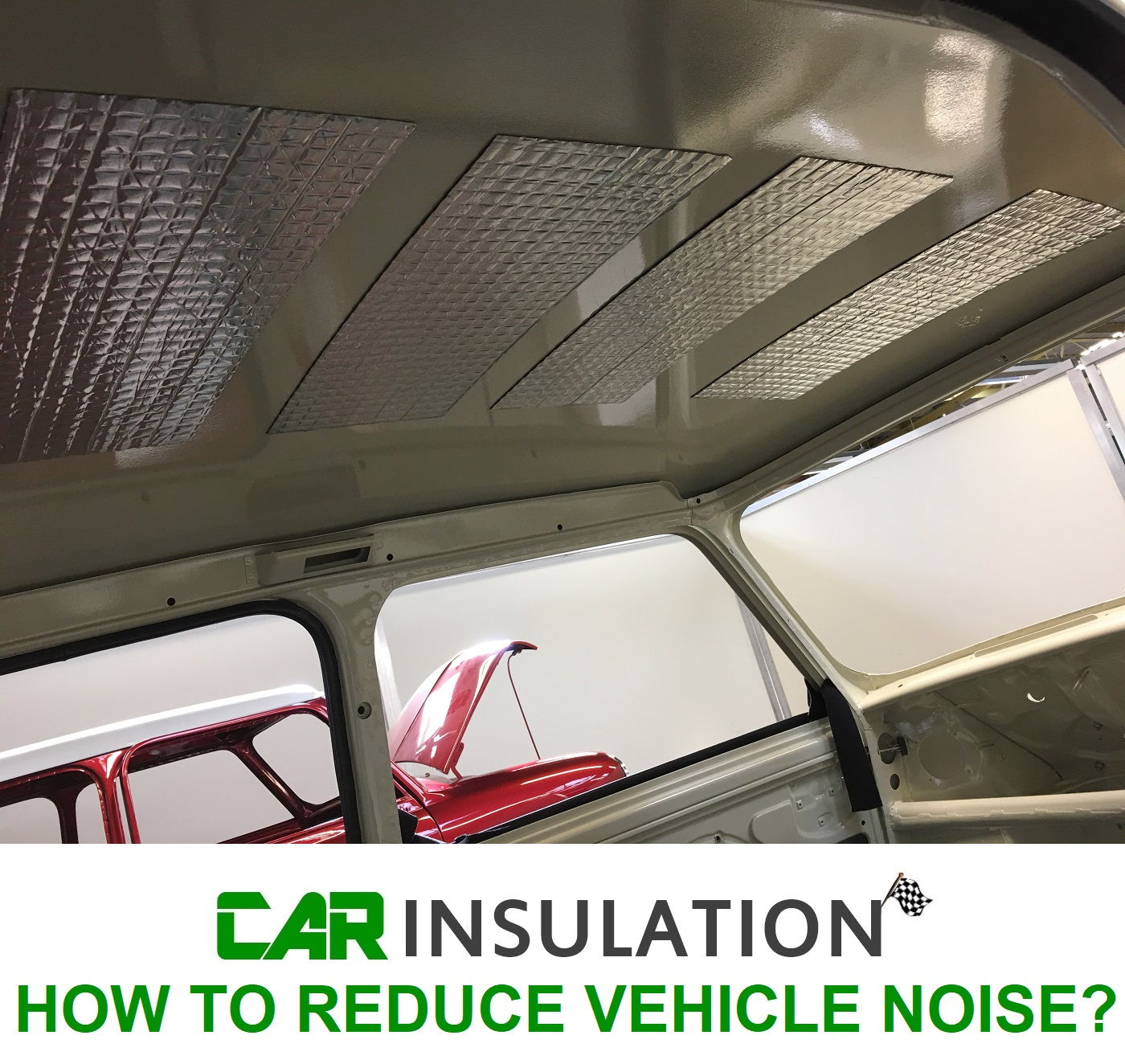 HOW TO REDUCE VEHICLE NOISE