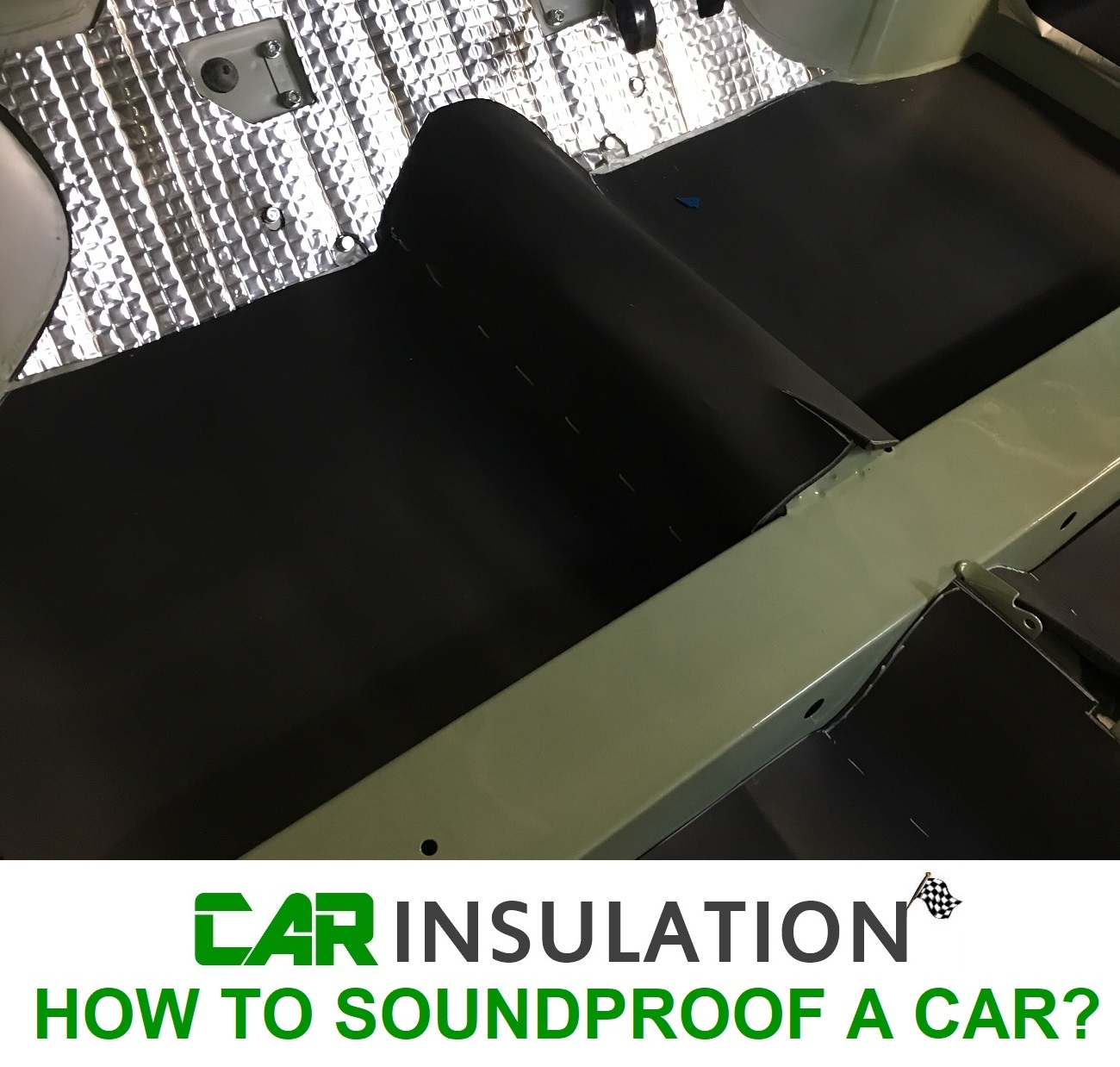 HOW TO SOUNDPROOF A CAR