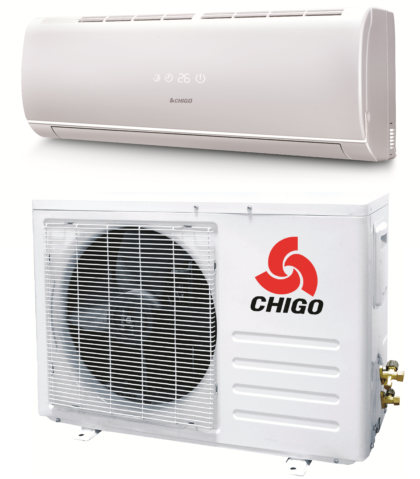 chigo 12000 btu 20 seer 110v mini split heat pump air