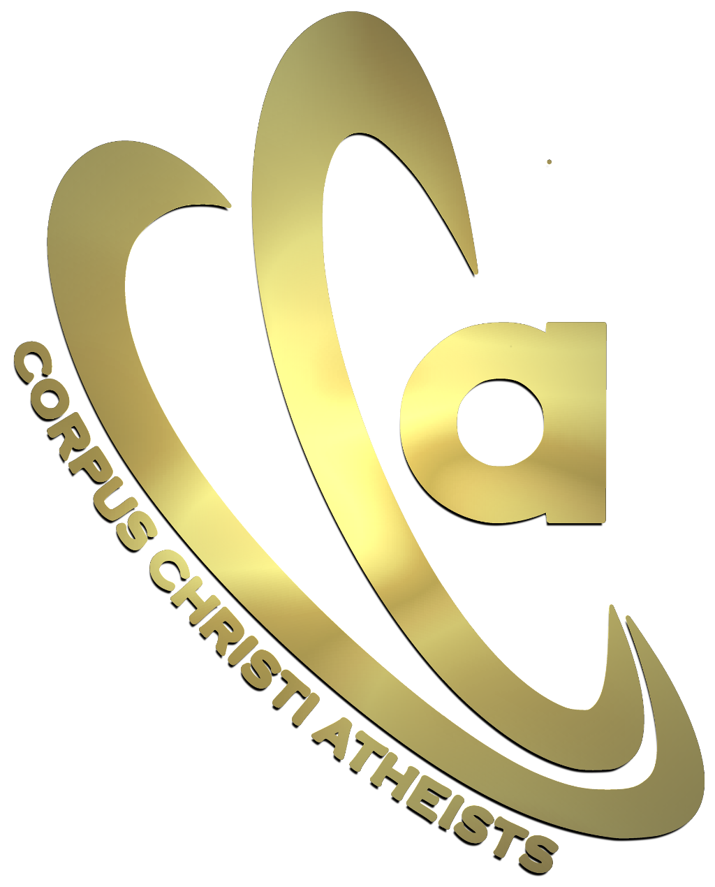 Old Corpus Christ Atheists logo