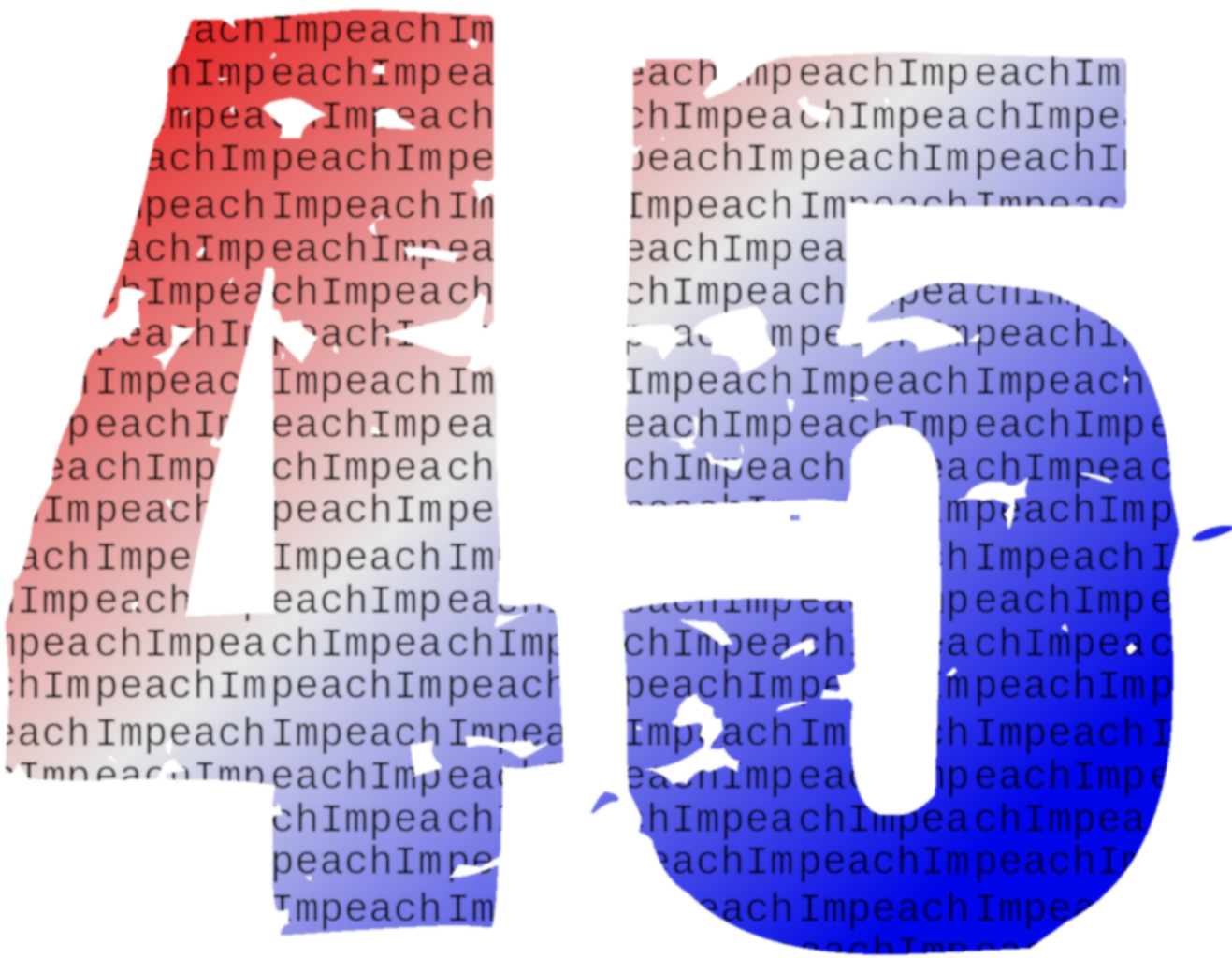 Mug 11oz Red White and Blue Impeach 45