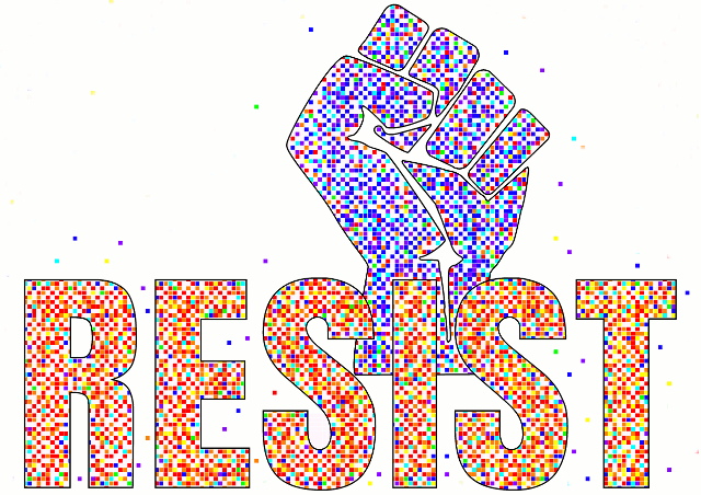 Join The Resistance design