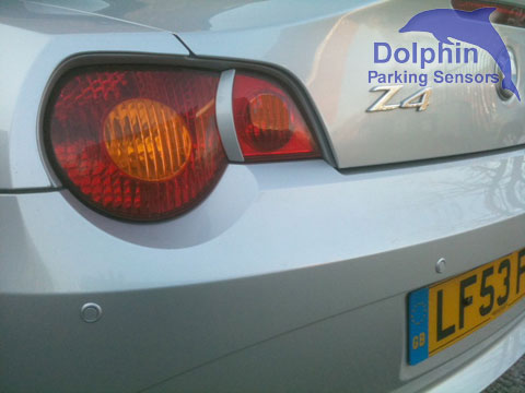 How to fit parking sensors on to a Z4 BMW