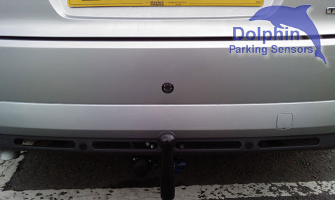 camera parking sensor kit installed in a mondeo