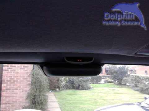 rear roof mounted display