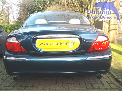 Jaguar S-Type fitted with parking sensors