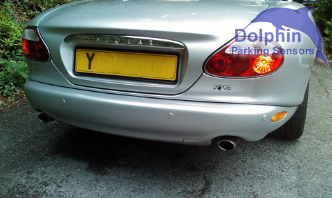 Jaguar XK8 rear parking sensors