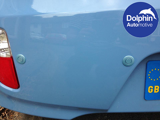 close up of the sensors on a 61 reg picanto