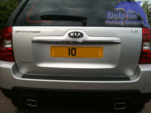 Kia Sportage X5 with silver body colour sensors at no extra cost