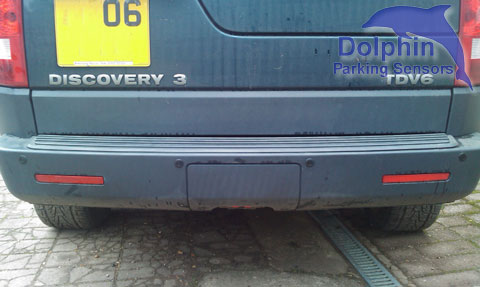 Land Rover Discovery 3 parking sensors