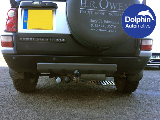 Freelander with parking sensors installed