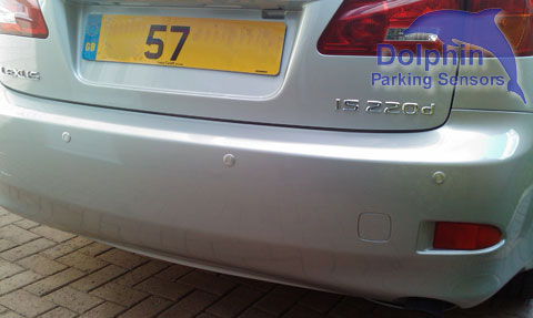 Lexus 57 reg with parking sensors