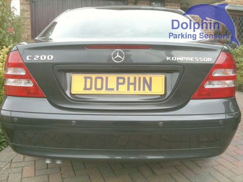 Mercedes C200 iron grey parking sensors