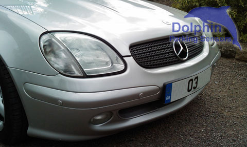 fitted to a Mercedes SLK 03 reg