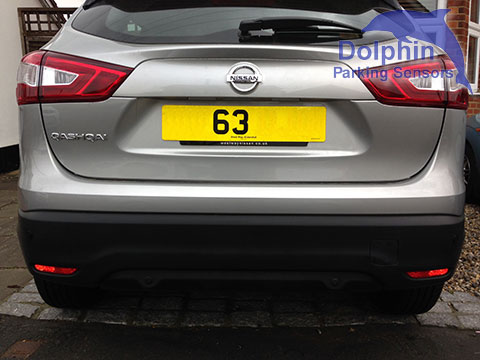 63 reg 2014 qashqai with parking sensors
