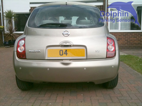 nissan micra with rear parking sensors