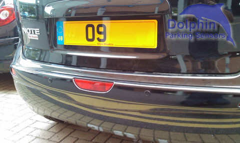 Nissan note 09 reg with parking sensors installed