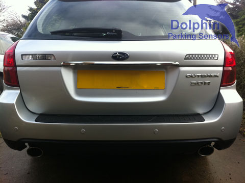 Subaru Outback fitted with parking sensors