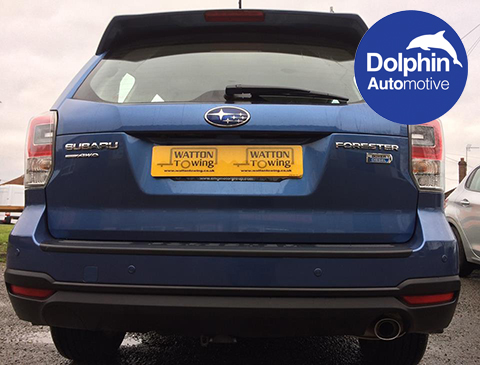 dolphin automotive sensors installed by Watton Towing