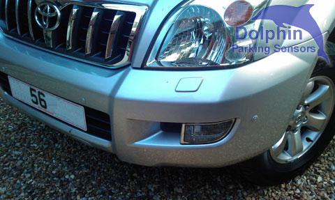 front parking sensors on toyota