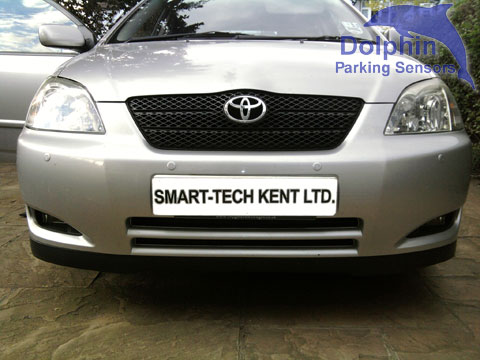 Front parking sensors Toyota Corolla