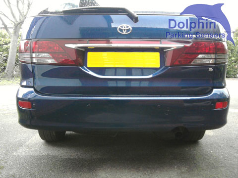 Dolphin DPS455, rear roof mounted display,