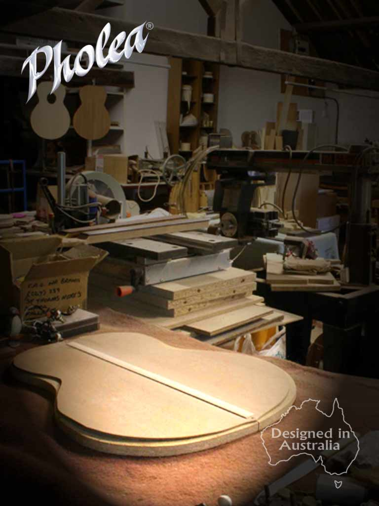 Guitars Designed in Australia