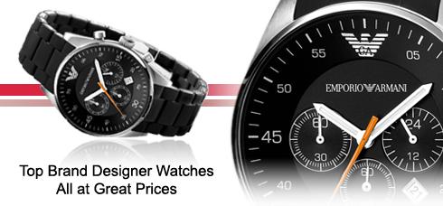 c6764c67302 Designer Emporio Armani Watches UK - For Men and Women
