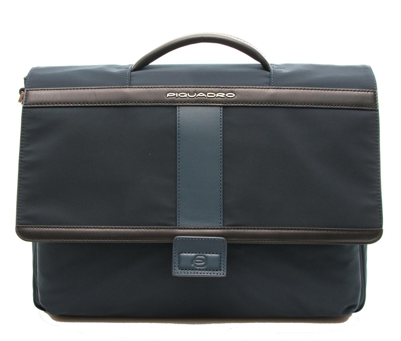 91c24ce2cf1 Мъжка Кожена Бизнес Чанта за Документи Piquadro Обобщение
