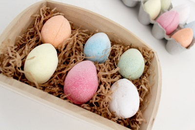 Box of 6 Bath Eggs Bath Bombs