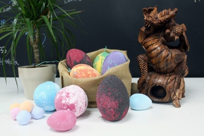 Dragon's Egg Bath Bomb collection
