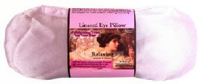 linseed eye pillow relaxing