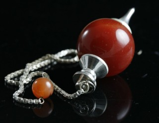 gemstone sphere pendulum