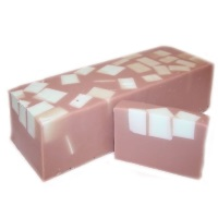 mint chocolate chunks handcrafted soap