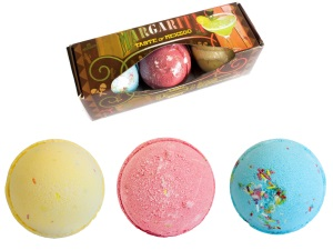Set of Three Margarita Bath Bombs