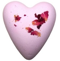 Rose MegaFizz Bath Heart Bath Bomb