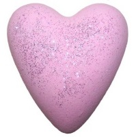 Jasmine Wings MegaFizz Bath Heart Bath Bomb