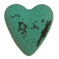 Get Fresh Mint MegaFizz Bath Heart Bath Bomb
