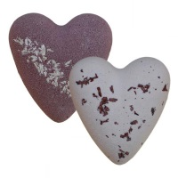 After Dark Chocolate MegaFizz Bath Heart Bath Bombs