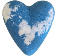Adam - Blue MegaFizz Bath Heart Bath Bomb