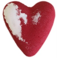 Eve - Red MegaFizz Bath Heart Bath Bomb
