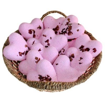 MegaFizz Bath Hearts Bath Bombs