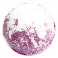Raspberry Blackpepper shea butter bath bomb
