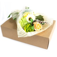 Greens Hand Soap Flower Bouquet in a Box