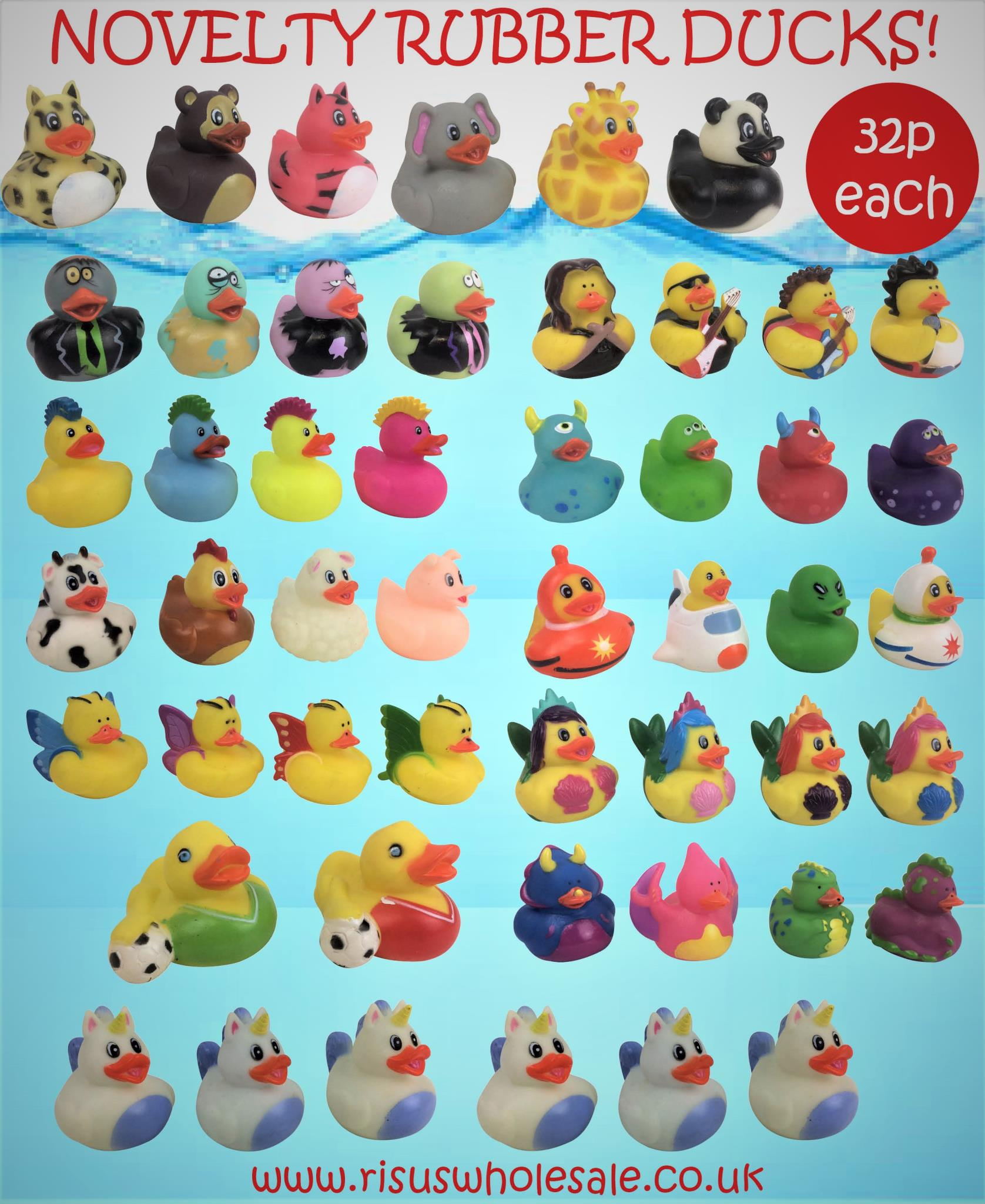 Wholesale Toy Bath Ducks - Risus Wholesale